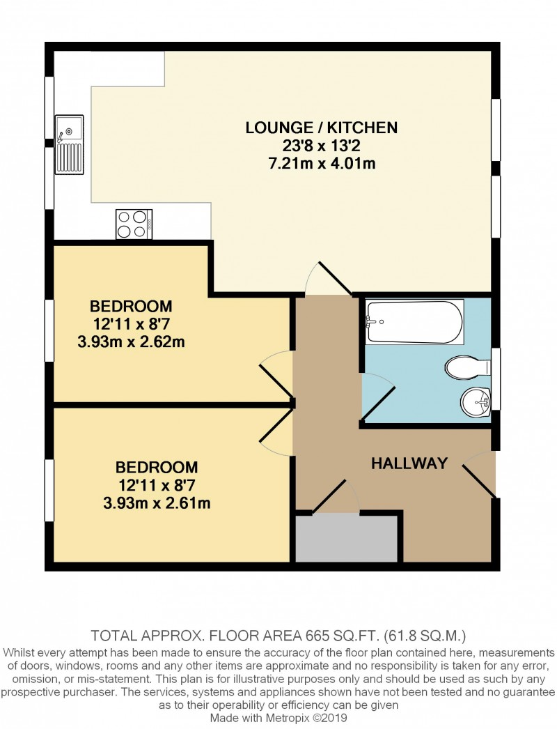 Floorplans For Preston Road, Standish, WN6 0NP