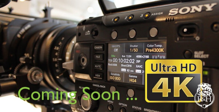 4k Ultra HD Video coming soon