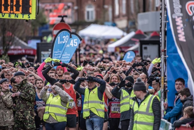 We are a very proud sponsor of the Wigan Run Festival