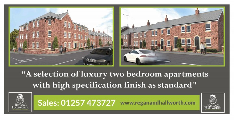 New apartments in Standish launch today.