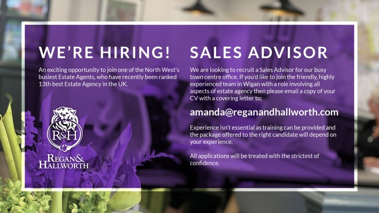 We're Hiring - Sales Advisor