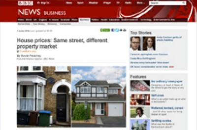The BBC ask Andrew Regan for his view the property market.