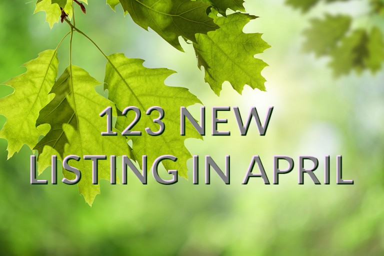 Spring property market as strong as ever.
