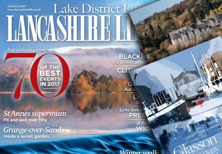 One of homes features in Lancs Life